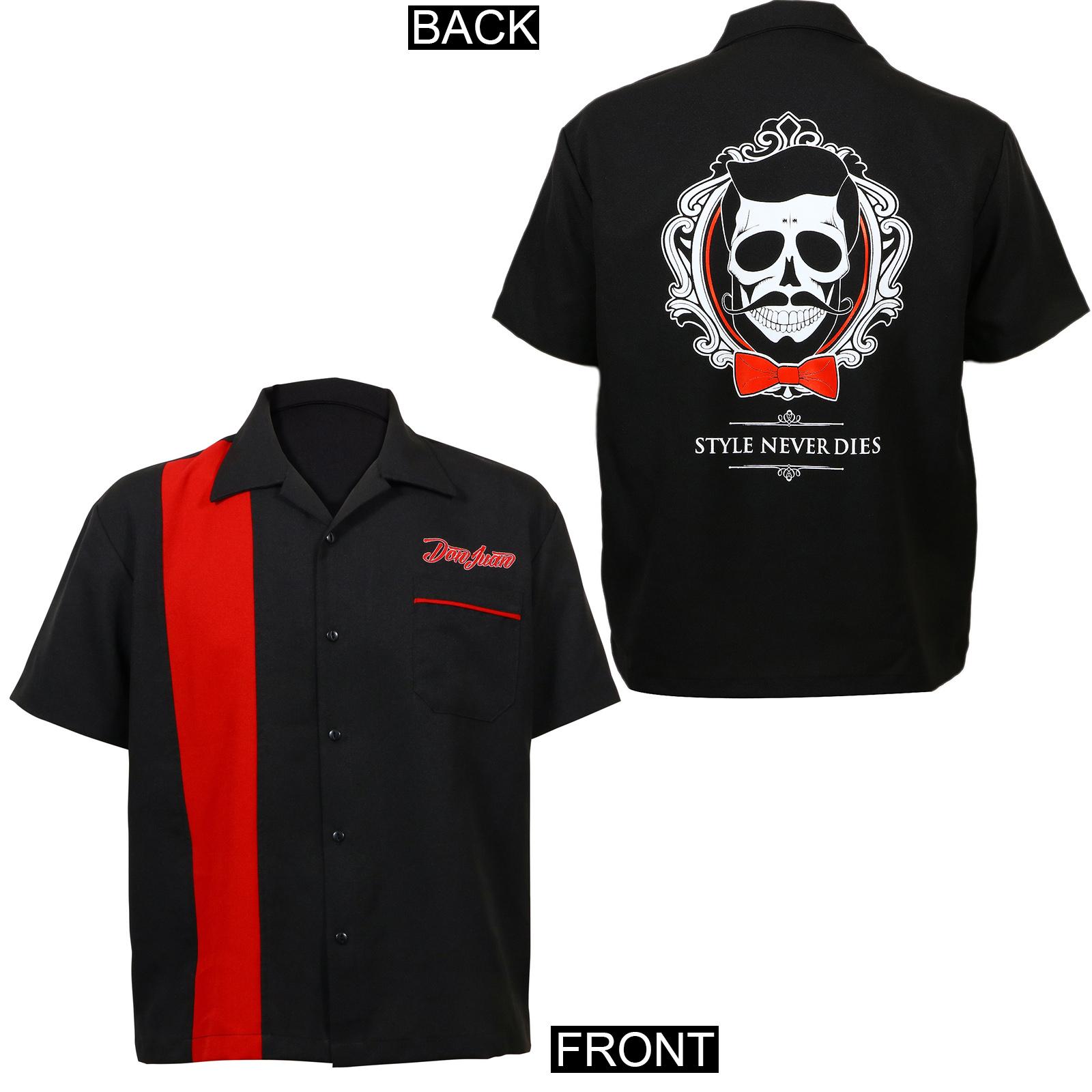 Don Juan Jumbo Style Never Dies Bowling Shirt