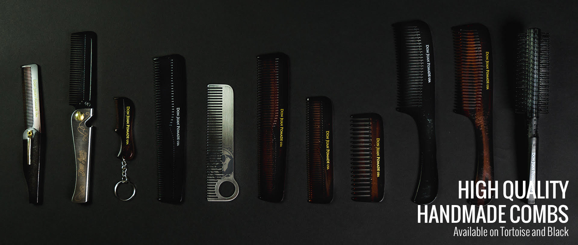 Don Juan Pomade High Quality Handmade Combs